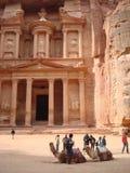 The Treasury Petra Jordan Stock Images