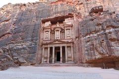 Treasury in Petra, Jordan Royalty Free Stock Photos
