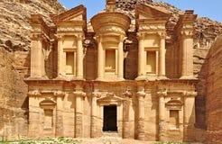 Treasury in Petra, Jordan royalty free stock photo