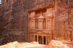 The Treasury, Petra, Jordan Royalty Free Stock Images