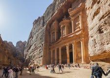 The Treasury. Petra. Jordan Stock Photography