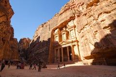 The Treasury, Petra Royalty Free Stock Photo