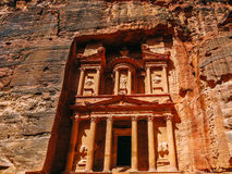 The Treasury in Petra Royalty Free Stock Images