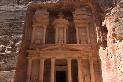 Treasury of Petra Stock Images
