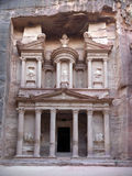 Treasury tomb in Petra. Stock Photos