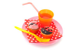 Treat for child party Stock Photo
