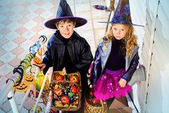 Treat children Royalty Free Stock Images