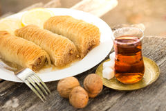 Treat yourself with dessert from Turkey Stock Photos