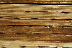 Treated Wood Texture Stock Images