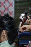 Treatment in beauty salon Royalty Free Stock Photos