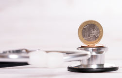 Treatment costs Royalty Free Stock Images