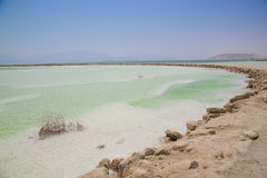 Treatment on the Dead Sea Royalty Free Stock Image