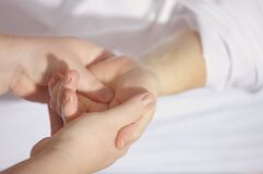 Treatment, Finger, Keep, Hand Stock Photography