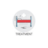 Treatment Hospital Doctors Clinic Medical Icon. Vector Illustration Royalty Free Stock Image