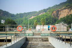 Treatment Plant Royalty Free Stock Image