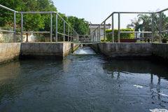 Treatment Plant Stock Photo
