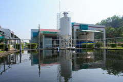 Treatment Plant Royalty Free Stock Photography