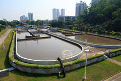 Treatment Plant Stock Image