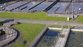 Treatment Plant stock image