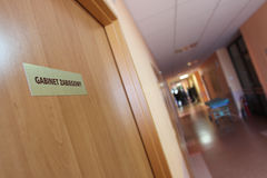 Treatment room in the hospital Royalty Free Stock Photography
