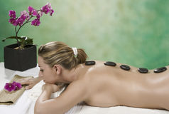 Treatment in spa Stock Photos