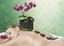 Treatment in spa Royalty Free Stock Image