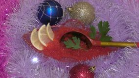 Treats for Christmas stock video
