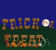 treattrick Royaltyfria Bilder