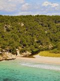 Trebaluger Bay on Minorca Stock Photos
