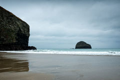 Trebarwith Strand Stock Images