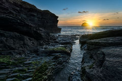 Trebarwith Strand Royalty Free Stock Image