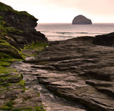 Trebarwith Royalty Free Stock Photos