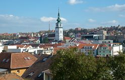 Trebic, Czech republic Stock Photography