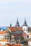 Trebic, Czech Republic. St. Procopius Basilica in Trebic, Czech Republic Royalty Free Stock Images