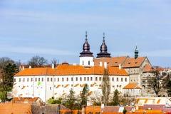 Trebic, Czech Republic. St. Procopius Basilica in Trebic, Czech Republic Stock Photography