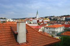 Trebic, Czech republic. Stock Images