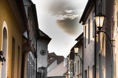 Trebic miasto, republika czech, UE zdjęcie stock