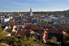 Trebic, Tsjechische Republiek stock foto's