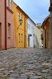 Trebic Żydowski grodzki Trebic - UNESCO światowe dziedzictwo obraz royalty free