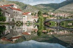 Trebinje, μια πόλη σε Βοσνία-Ερζεγοβίνη Στοκ Φωτογραφία