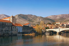 Trebinje city view. Bosnia and Herzegovina royalty free stock photo