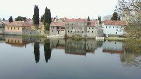 Trebinje. View of the old town of Trebinje Stock Photo