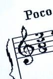 treble clef стоковые фото