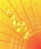 treble clef Стоковое Изображение RF