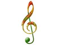 treble clef Стоковые Фотографии RF