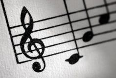treble clef Стоковое фото RF