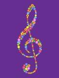 treble clef Стоковые Изображения RF