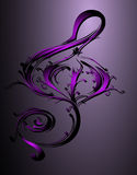Treble clef Stock Photos