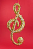 Treble Clef Music Note Royalty Free Stock Photo