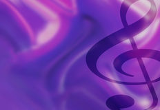 Treble Clef Music Notes Illustration Royalty Free Stock Images